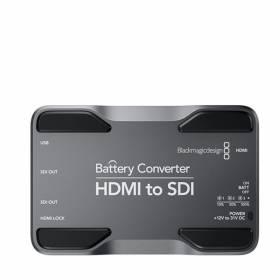CONVERSOR BLACKMAGIC A BATERIAS HDMI PARA SDI