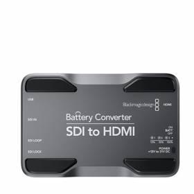 CONVERSOR BLACKMAGIC A BATERIAS SDI PARA HDMI